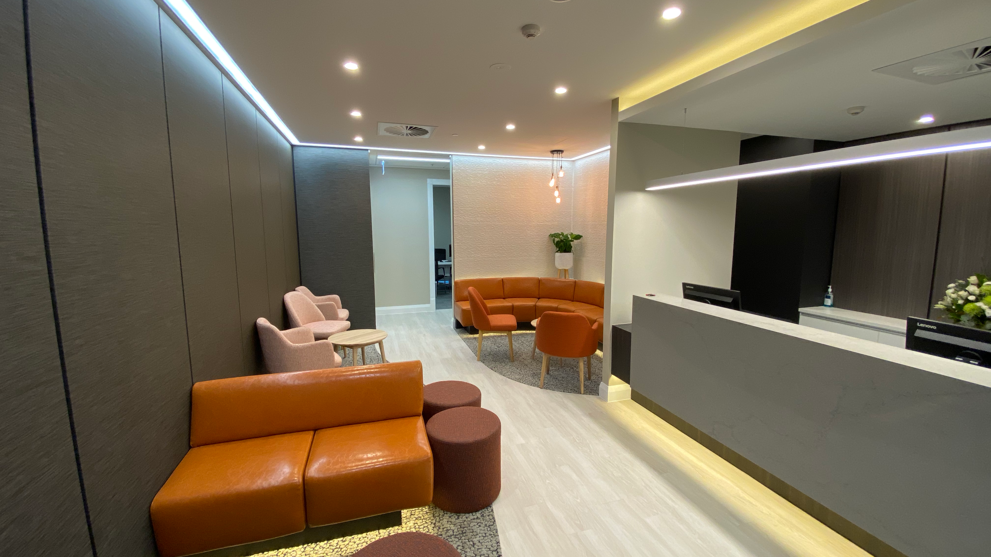 Fox Valley Specialist Centre Waiting Area